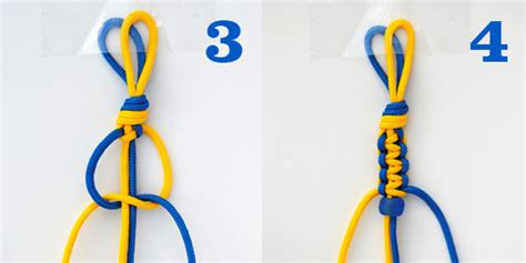 How To Tie A Macrame Square Knot - macram 233 hexnut bracelet you can do it yourself