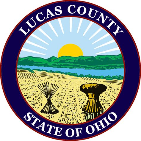 Lucas County Search File Seal Of Lucas County Ohio Svg