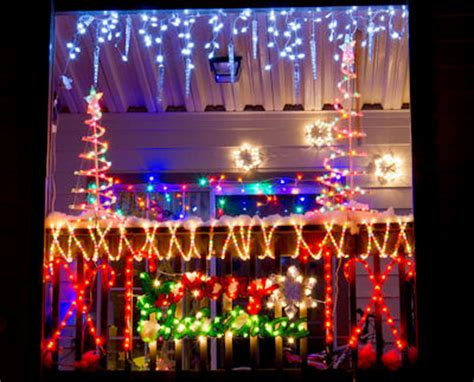 the balcony of an apartment in la grange ga decked up for