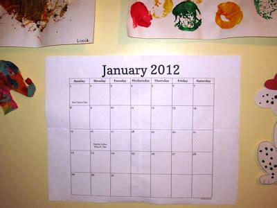make your own wall calendar with ella make your own 2012 wall calendar