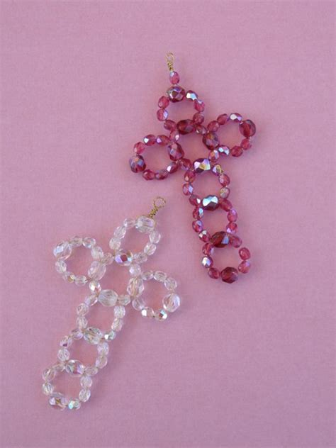 beaded cross terry ricioli designs beaded crosses