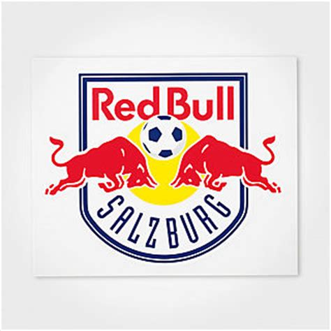 Aufkleber Red Bull Racing by Fc Red Bull Salzburg Shop Aufkleber Nur Hier Im