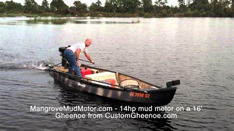 gheenoe layout boat mangrove mudmotors at custom gheenoe youtube