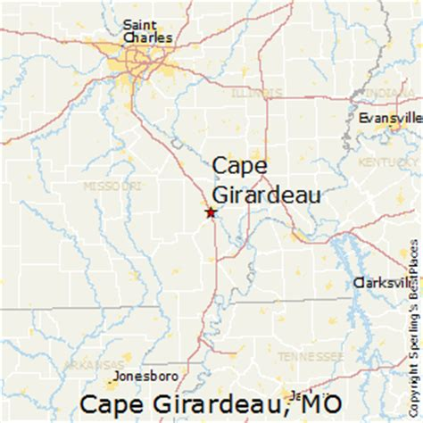 Best Places To Live In Cape Girardeau Missouri