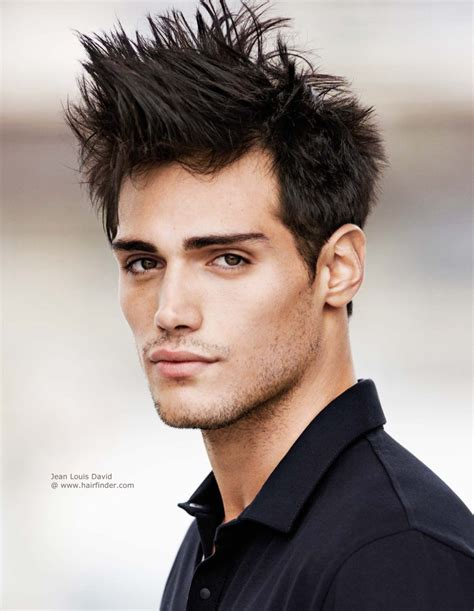 hairstyles with hair gel men s hairstyle with gel spikes