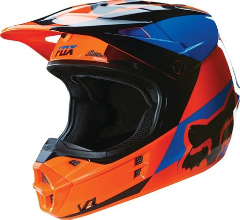 fox helmets 169 95 fox racing v1 mako dot helmet 234747