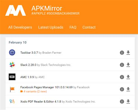 Play Store Apk Mirror How To Install Apps Outside Of Play Store