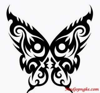 tato kupu kupu sederhana kumpulan foto tatto keren terbaru madjongke