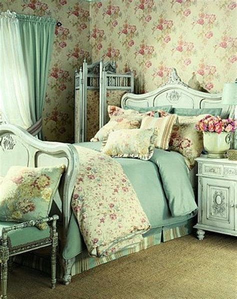 vintage bedroom curtains decorar tu dormitorio shabby chic fotos