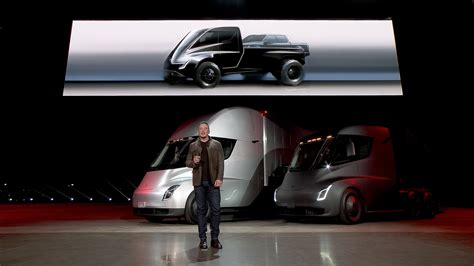 tesla electric pickup truck electric tesla pickups are coming right after more crossovers