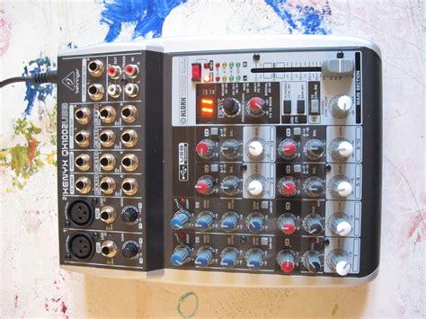 Mixer Behringer Xenyx Qx1002usb behringer xenyx qx1002usb image 802303 audiofanzine