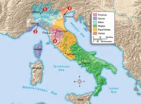 Map Of Renaissance Italy by Gallery For Gt Map Of Italian City States During The