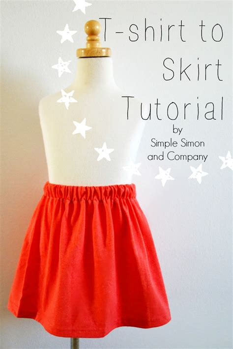 pattern for t shirt skirt t shirt to skirt tutorial simple simon and company