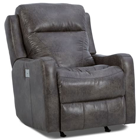lumbar support recliner caprice power rocker recliner with power headrest and