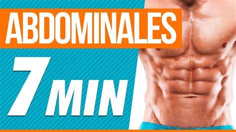 videos abdominales en casa rutina de abdominales en casa 7 minutos youtube