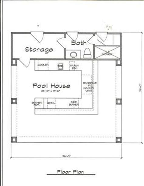 pool house plans with bar pool house plans with bar home design and style