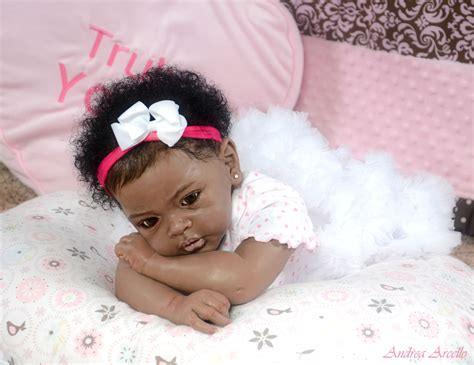 black doll show american silicone reborn babies oasis fashion