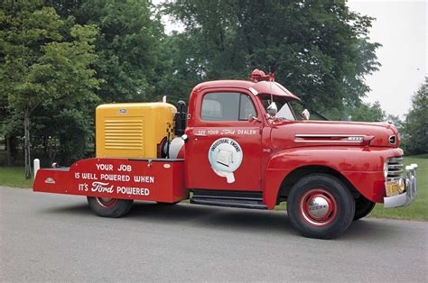 truck with history of service and utility bodies for trucks