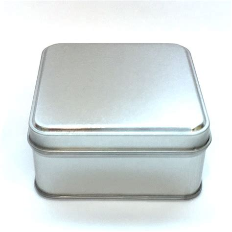Square Spice Containers Square Metal Spice Tins Myspicer Herbs Spices