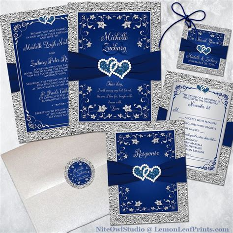blue and silver wedding invitation ideas 25 best ideas about silver wedding invitation sets on