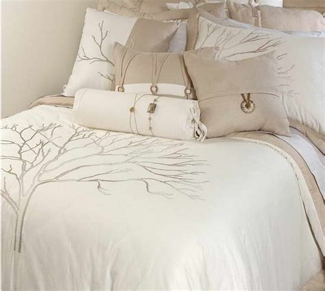 bloombety white bedspreads and comforters with tree