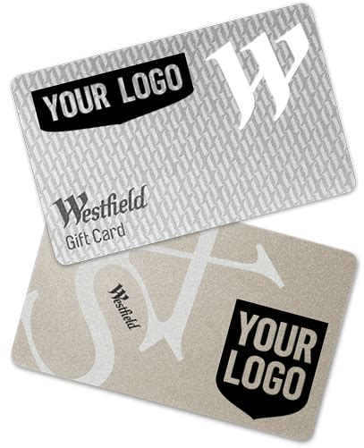 Westfield Gift Card Activation Fee - branded customised corporate cards westfield gift cards