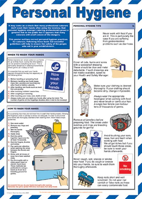 Kitchen Equipment Hygiene Aid And Treatment Guidance Posters