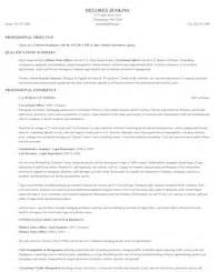 Special Investigator Cover Letter by Special Investigator Cover Letter