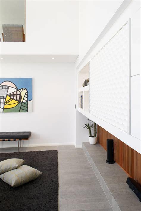 corner of living room modern rectangular shaped house boasting an elegantly joyful interior freshome