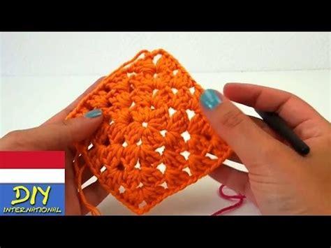 tutorial merajut untuk pemula youtube cara merajut granny square untuk pemula diy cara merajut