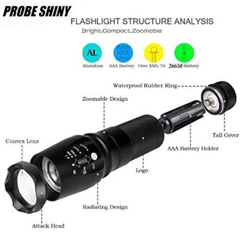 5000 lumen floor l probe shiny 5000 lumens tactical led cree xm l t6 le de
