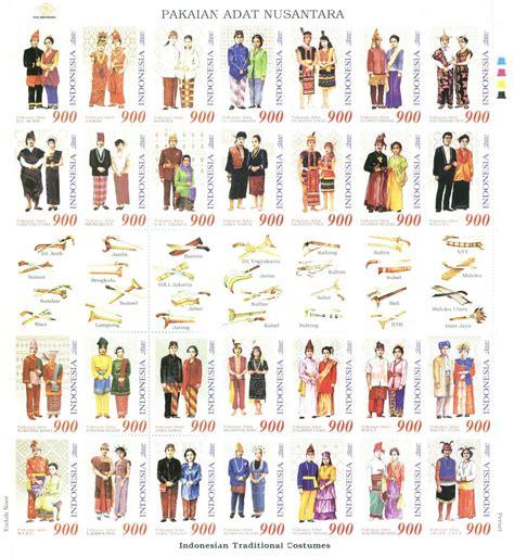 daftar pakaian adat indonesia lengkap didit blog