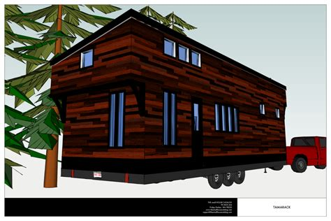 No 20 The Tamarack Tiny House Plan The Small House Modern Tiny House Plans With Loft