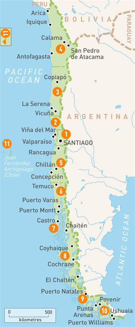 chile regions map map of chile chile regions guides guides