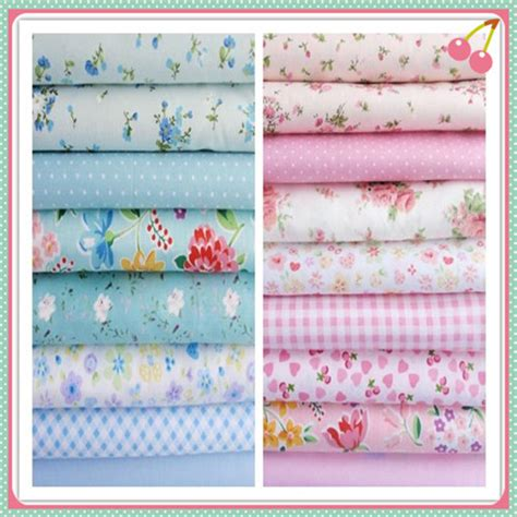 100 Cotton Fabric For Quilting by Aliexpress Buy Baby Pink Blue 160x50cm 17 Patterns