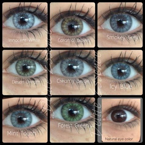 real looking colored contacts desio luxury color contact lenses real looking