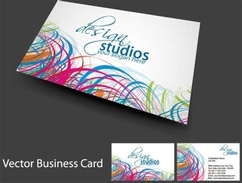 editable business card templates free editable business card template free vector