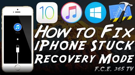 how to make an iphone work without a sim card how to fix iphone stuck in recovery mode loop using