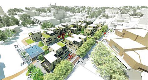 urban housing design urban housing plan receives national acsa aia housing design education award