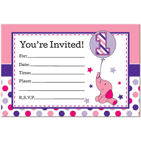 printable birthday cards elephant elephant birthday invitations ideas bagvania free