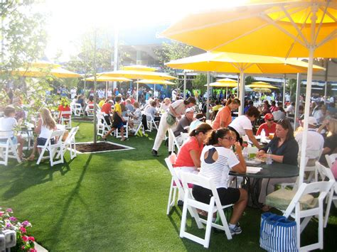 design food court outdoor lindner family tennis center with new food court