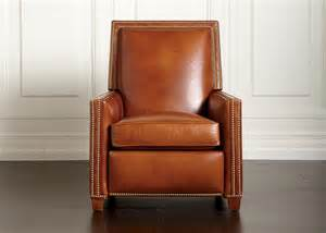 randall leather recliner ethan allen