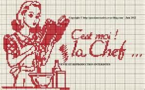 grille point de croix gratuit 224 imprimer