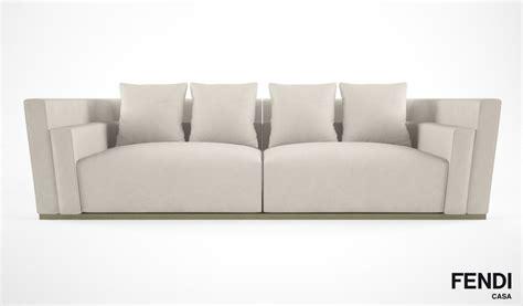 casa sofas 3d model fendi casa borromini sofa
