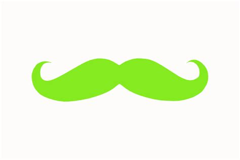 clipart mustache chartuse mustache clip at clker vector clip