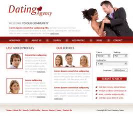 Dating Site Templates by Free Website Templates With Dating Theme 1