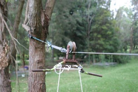 Backyard Flying Fox Zip Line Outside Pinterest Trees Green And Home