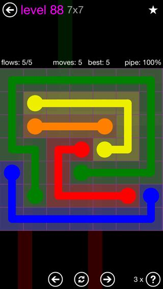 calculator game level 88 flow free solutions flow 7mania pack set 7x7 level 88