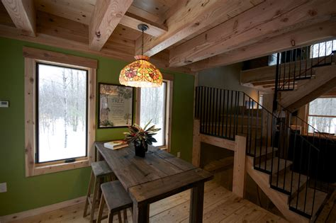 Two Story Loft Floor Plans green house in the woods