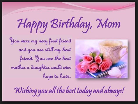 Quotes For Mothers Birthday Heart Touching 107 Happy Birthday Mom Quotes From Daughter